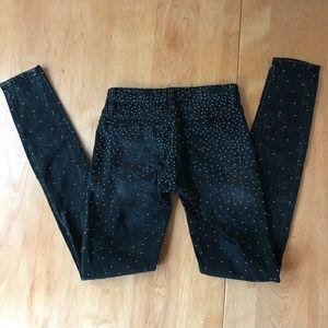BlankNYC Studded Black Jeans Size 24